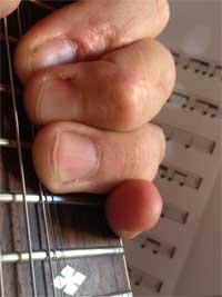 Andi Lux Bending Gitarre