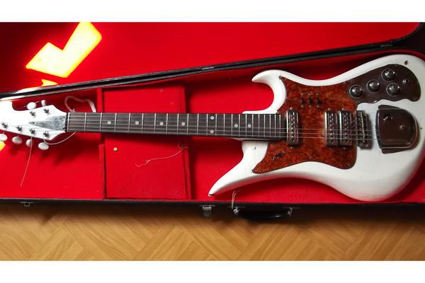 Verkaufe alte Gitarre